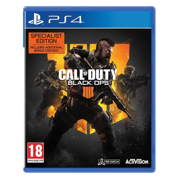 Call of Duty: Black Ops 4 (Specialist Edition) PS4