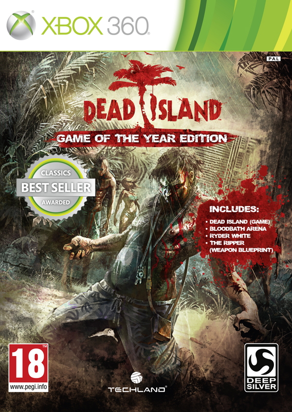 Dead Island (Game of the Year Edition)  - XBOX