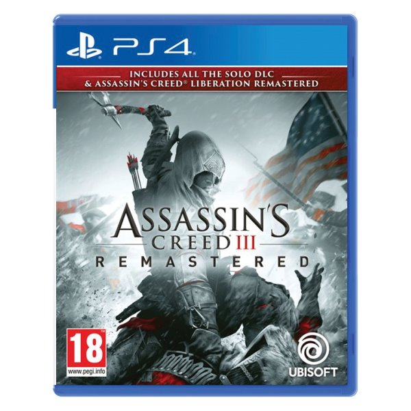 Assassins Creed 3 (Remastered) PS4