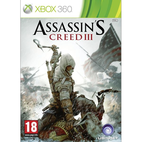 Assassins Creed 3 CZ XBOX