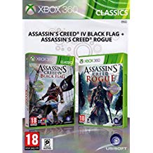 Assassins Creed 4: Black Flag+Assassins Creed: Rogue PS3
