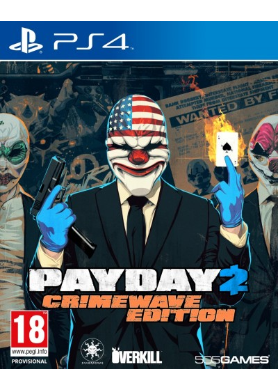 PayDay 2 (Crimewave Edition) - PS4