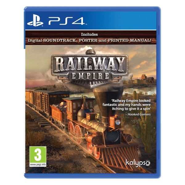 Railway Empire PS4