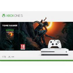 Xbox One S 1TB + Shadow of the Tomb Raider
