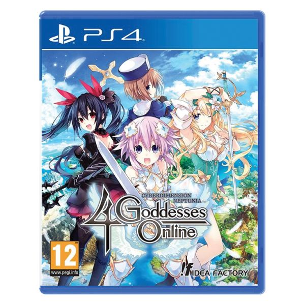 Cyberdimension Neptunia 4 Goddesses Online  PS4