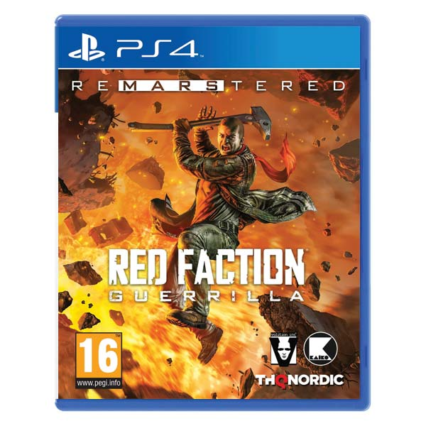 Red Faction: Guerrilla (Re-Mars-tered) PS4